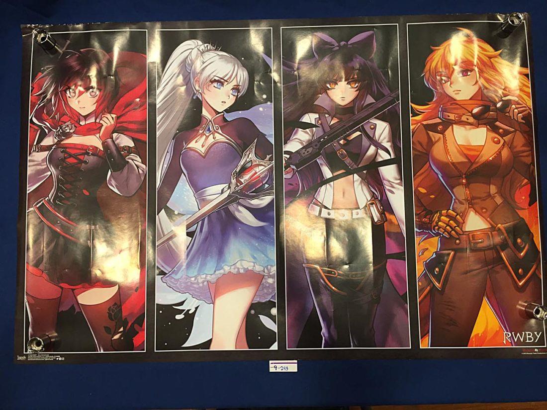 RWBY 34 X 22 inch Anime Poster [9293]