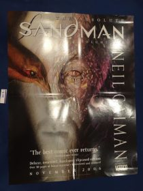 Neil Gaiman's The Absolute Sandman Volume One 17×22 inch Promotional Poster (2006)