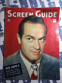 Screen Guide Magazine (January 1944) Bob Hope [9285]