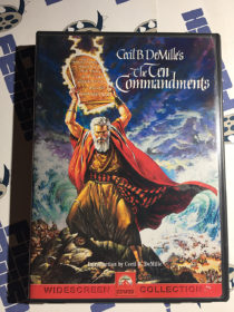 Cecil B. DeMille's The Ten Commandments DVD (1999) Charlton Heston