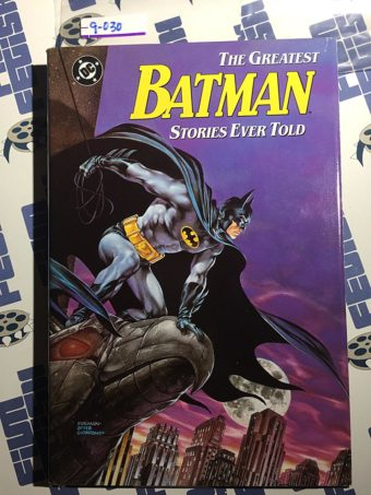 The Greatest Batman Stories Ever Told Hardcover Edition First Printing (1988)