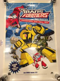 Transformers Animated 15×22 inch Promotional Poster