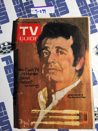 TV Guide Magazine (June 2, 1979) James Garner