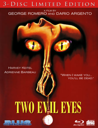 Two Evil Eyes 3-disc Limited Edition Set