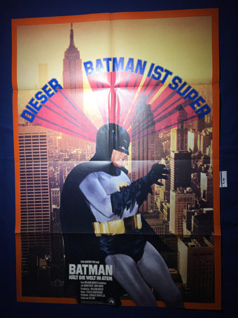 Batman: The Movie 23 x 33 inch German Promotional Movie Poster (1966)