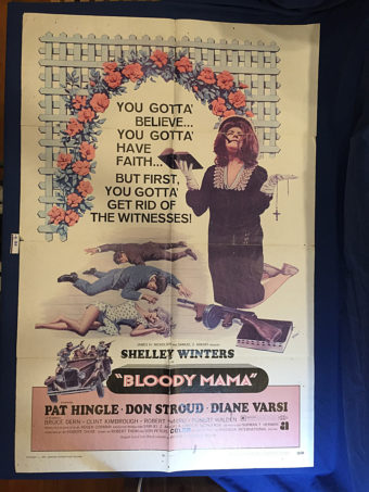 Bloody Mama 27×40 inch Original Movie Poster (1970) [9360]