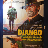 Django, Prepare a Coffin 23×33 inch Original German Movie Poster (1968) [9341]