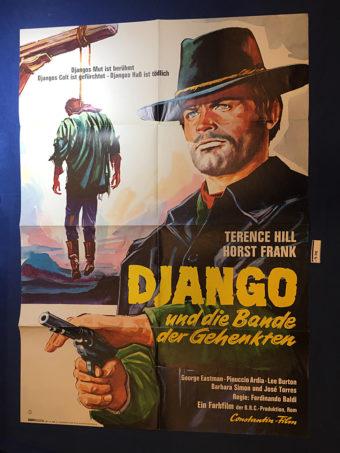 Django, Prepare a Coffin 23×33 inch Original German Movie Poster (1968) [9341]
