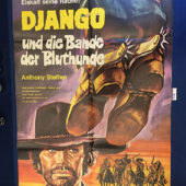 Django the Bastard (Django the Avenger) 23×33 inch Original German Movie Poster (1969) [9342]