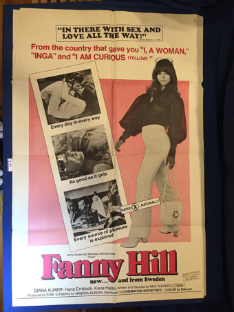 Fanny Hill 27×41 inch Original Movie Poster (1968) [9359]