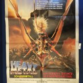 Heavy Metal 23 x 33 inch German Movie Poster (1981) [9346]