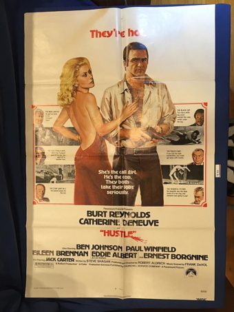 Hustle 27×41 inch Original Movie Poster (1975) Burt Reynolds [9352]