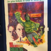 The Incredible Hulk (1977) Pilot Episode 23×33 inch Original German Theatrical Movie Poster [9347]