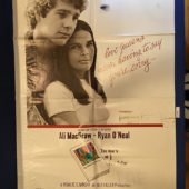 Love Story 27×41 inch Original Movie Poster (1970) Ali MacGraw, Ryan O'Neal [9355]