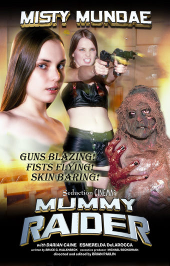 Misty Mundae Mummy Raider DVD Edition (2019)