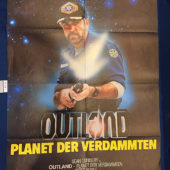 Outland 23×33 inch Original German Movie Poster (1981) [9338]