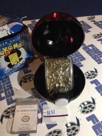 Burger King Pokemon 23K Gold Trading Card MewTwo Pokeball Blue Box (1999) [1137]