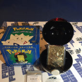 Burger King Pokemon 23K Gold Trading Card Togepi Pokeball Blue Box (1999) [1138]