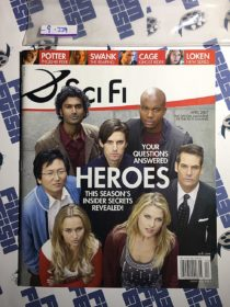 Sci Fi (SyFy) Magazine (April 2007) Heroes TV Series [9229]