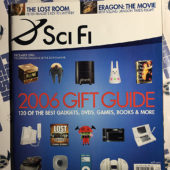 Sci Fi (SyFy) Magazine (December 2006) Holiday Gift Guide [9231]