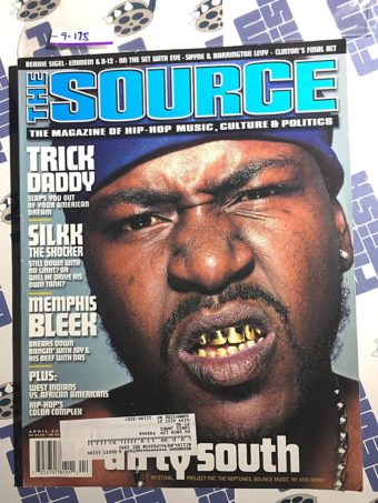 The Source Magazine (April 2001) Trick Daddy, Silkk, Memphis Bleek, Dirty South [9178]