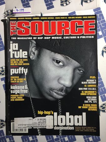 The Source Magazine (March 2001) Ja Rule, Puffy, Kokane & Suga Free [9179]