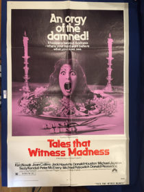Tales That Witness Madness 27×41 inch Original Movie Poster (1973) [9365]