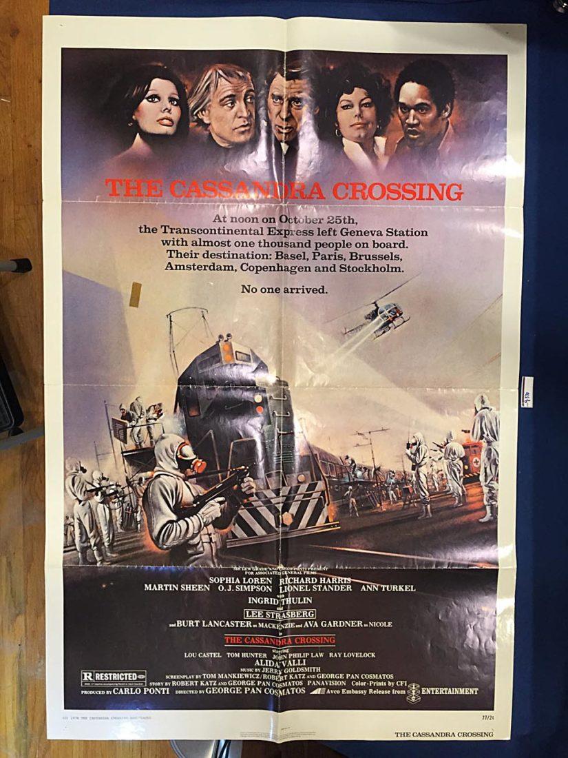 The Cassandra Crossing 27×41 inch Original Movie Poster (1976) [9370]