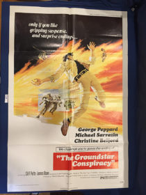 The Groundstar Conspiracy 27×41 inch Original Movie Poster (1972) [9364]
