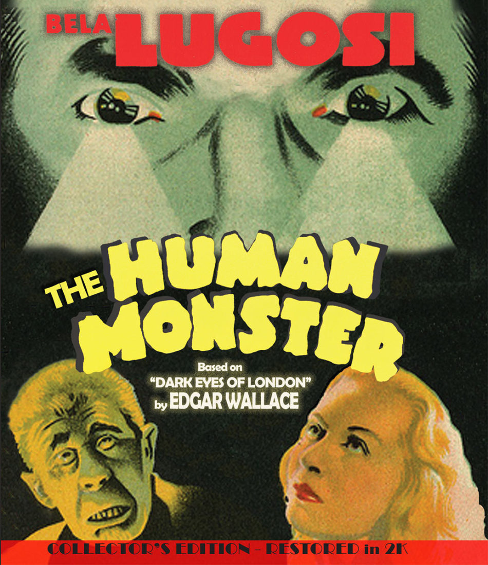The Human Monster Restored Collector's Edition Blu-ray (2019)