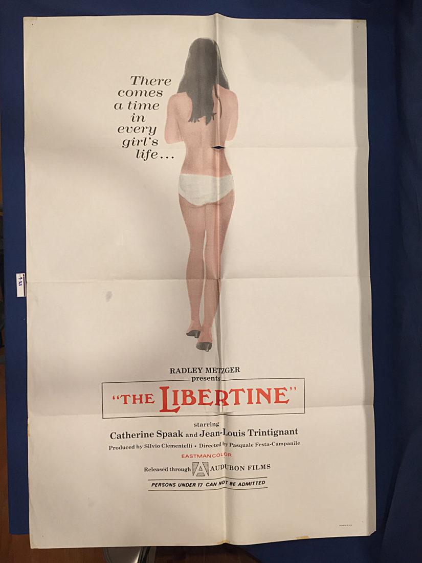 The Libertine (La matriarca) 27×41 inch Original Movie Poster (1968) [9368]