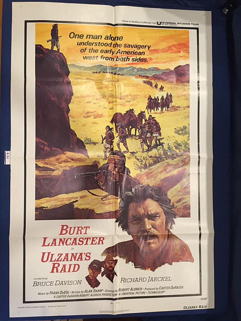 Ulzana's Raid 27×41 inch Original Movie Poster (1972) [9362]