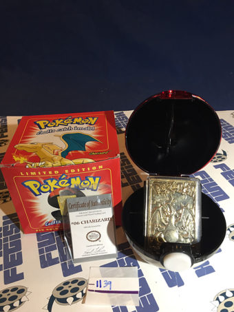 Burger King Pokemon 23K Gold Card Charizard #06 Pokeball (1999) [1139]