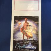 RARE As Time Goes By (L'australieno) Original Italian Insert Movie Poster (1988)