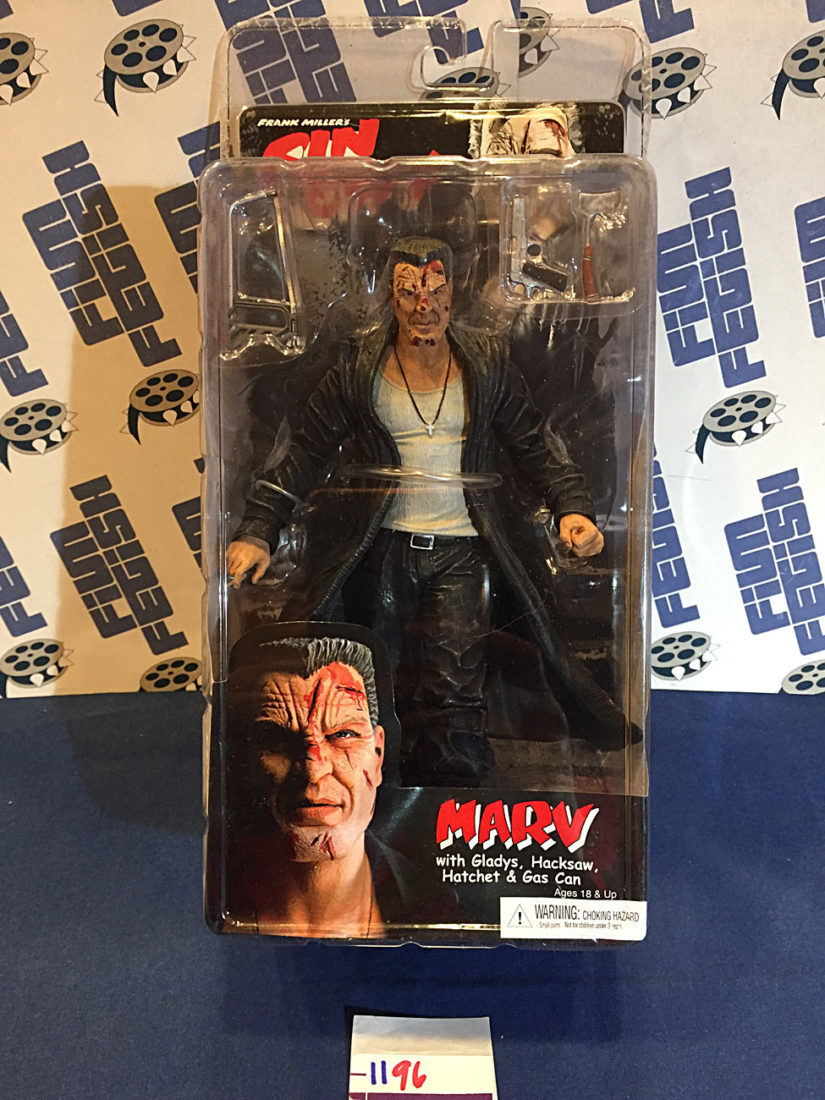 Reel Toys Frank Miller's Sin City Marv ToyFare Exclusive 7-Inch Action Figure (2005) [1196] Mickey Rourke