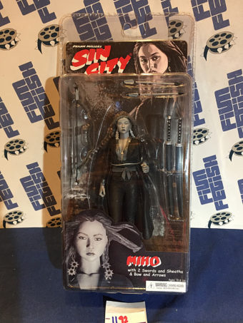 Frank Miller's Sin City Miho (Devon Aoki) NECA Action Figure Series 2 Black & White Variant (2005)