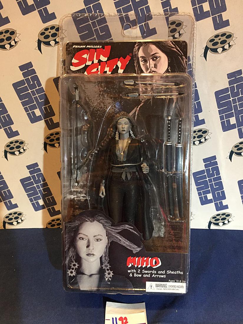 Frank Miller's Sin City Miho (Devon Aoki) NECA Action Figure Series 2 Black & White Variant (2005)