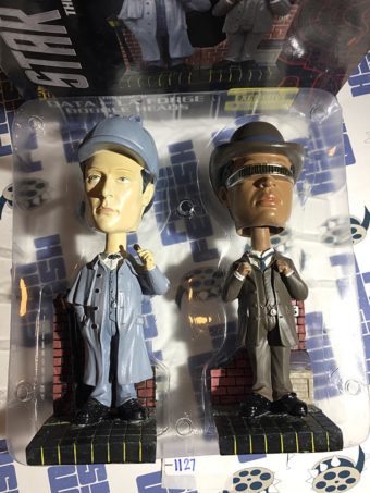 Star Trek: The Next Generation Sherlock Holmes Bobble Heads Set of 2 (2014) [1127]