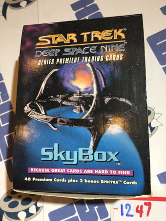 SkyBox Star Trek: Deep Space Nine Series Premiere Trading Card Set of 48 + 2 Bonus Spectra Cards (1993)