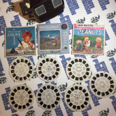 Sawyer's View-Master Viewer + 6 Reels + 3 Reel Sleeves