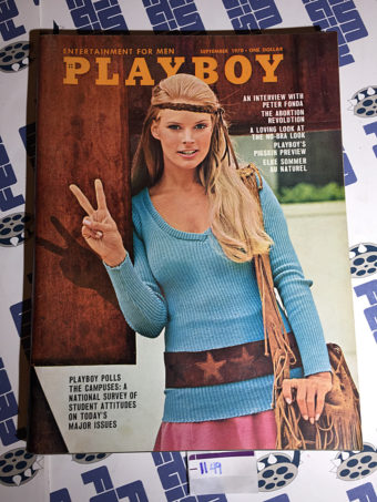 Playboy Magazine (Vol. 17, No. 9, September 1970) Elke Sommer [1149]