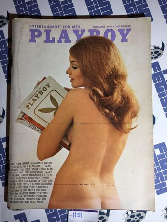 Playboy Magazine (Vol. 17, No. 2, February 1970) Barbara Parkins [1151]