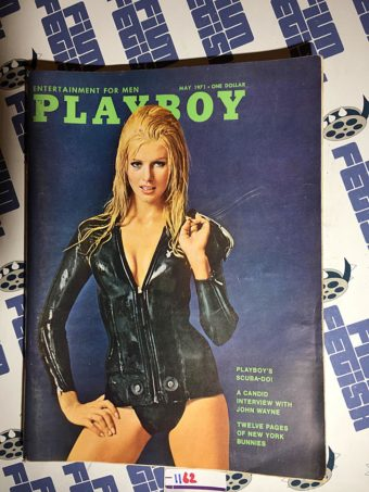 Playboy Magazine (Vol. 18, No. 5, May 1971) John Wayne Interview [1162]