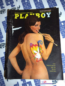 Playboy Magazine (Vol. 15, No. 3, March 1968) Art of Body Painting [1163]