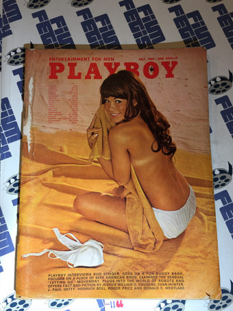 Playboy Magazine (Vol. 16, No. 7, July 1969) Barbi Benton Cover [1166]