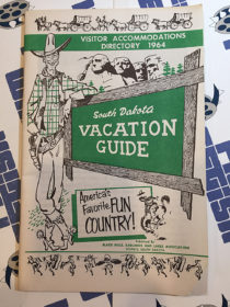 South Dakota Vacation Guide Visitor Accommodations Directory 1964