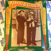 Ideal Toys Abbott and Costello Who's On First Collector Dolls with Cassette (1984)