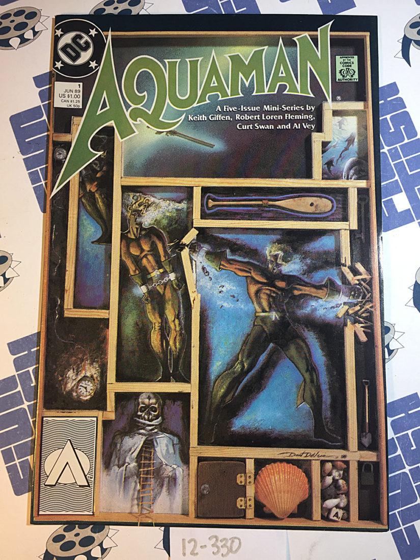 Aquaman Mini-Series Issue 1 Keith Giffen (1989)