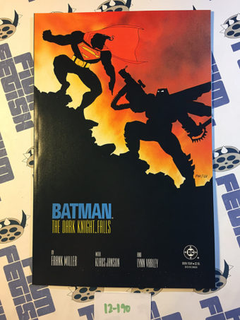 Frank Miller's Batman: The Dark Knight Returns Book Four Dark Knight Falls – First Printing (1986) [12190]