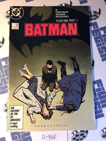 Batman Year One Part 1 Issue 404 (1986) 1st Printing Frank Miller, David Mazzucchelli [12464]
